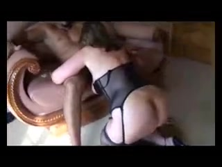 Amateur interracial euro mature gets black cocks