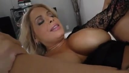 Mom gets creampied by bbc in front of son