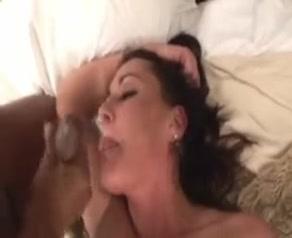 Sexy white wife needs to be treated like a slut